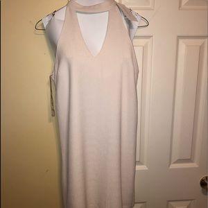 Dresses & Skirts - Cream color low cute dress